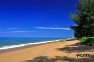 sand and blue sea phuket