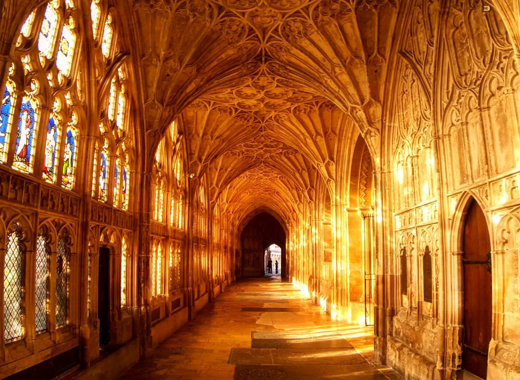 gloucester cathedral fan vaulted ceiling