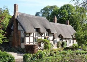 thatched tudor cottage