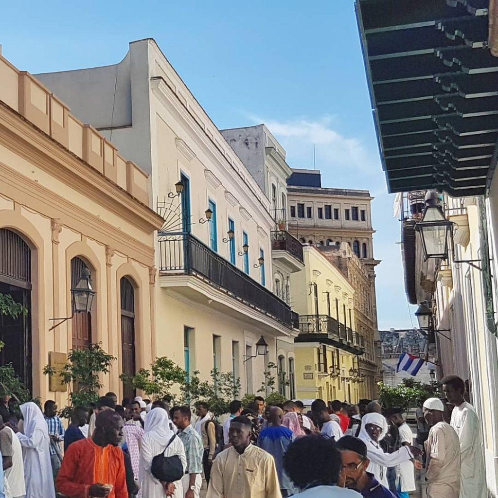 Muslims celebrate Eid in Havana, Cuba