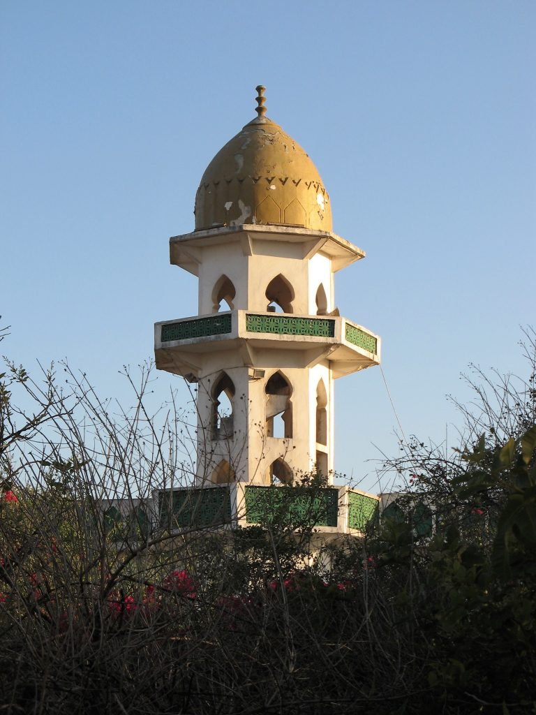 nabi ayyub gold domed tomb