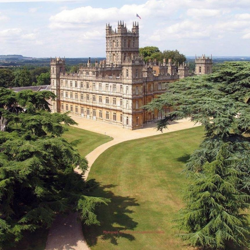highclere castle scenic day trips from london