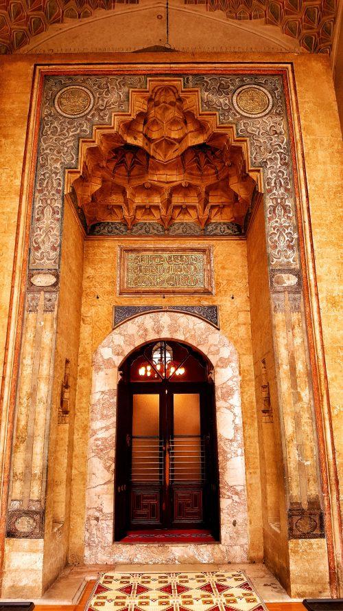 halal bosnia ottoman legacygold gilded door to gazi husrev beg mosque