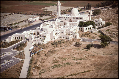 mosque jordan aerial view halal travel