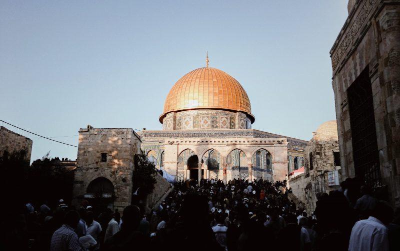 ramadan in al quds palestine dome of the rock