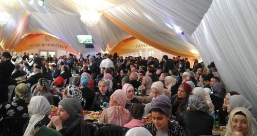 Muslim-friendly guide to Moscow ramadan tent iftar in Russia