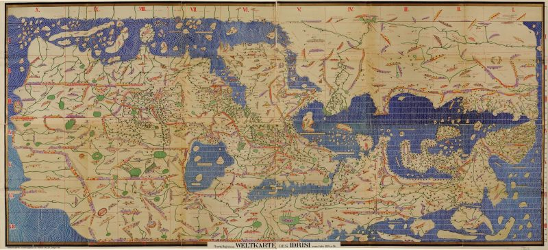 tabula regeriana al idrisi world map