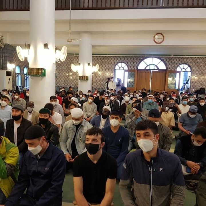 mosques reopen under Covid-19 restrictions seoul south korea