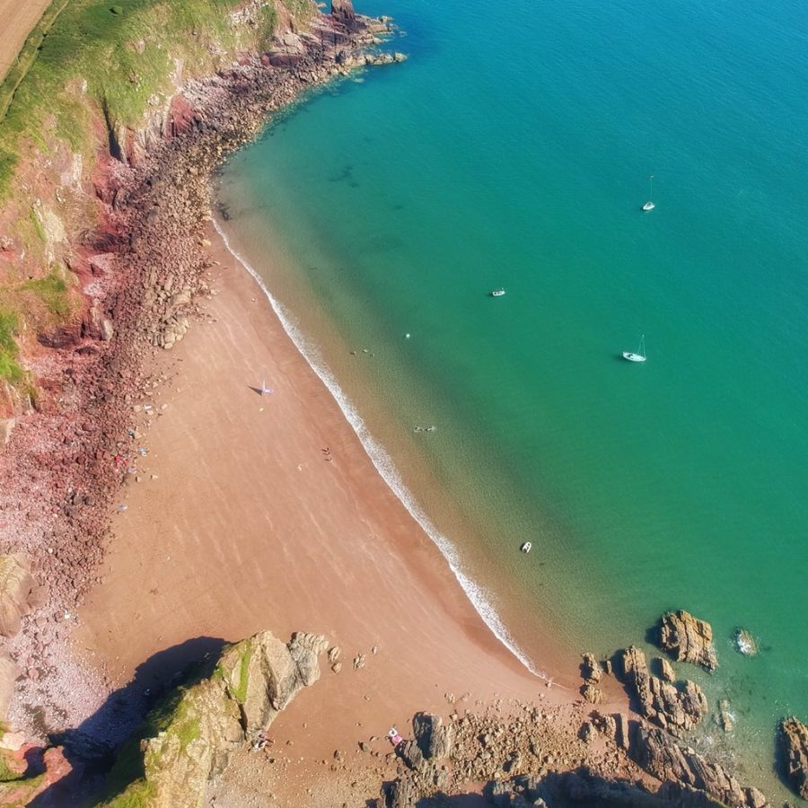 lindsway bay secluded beaches in the uk