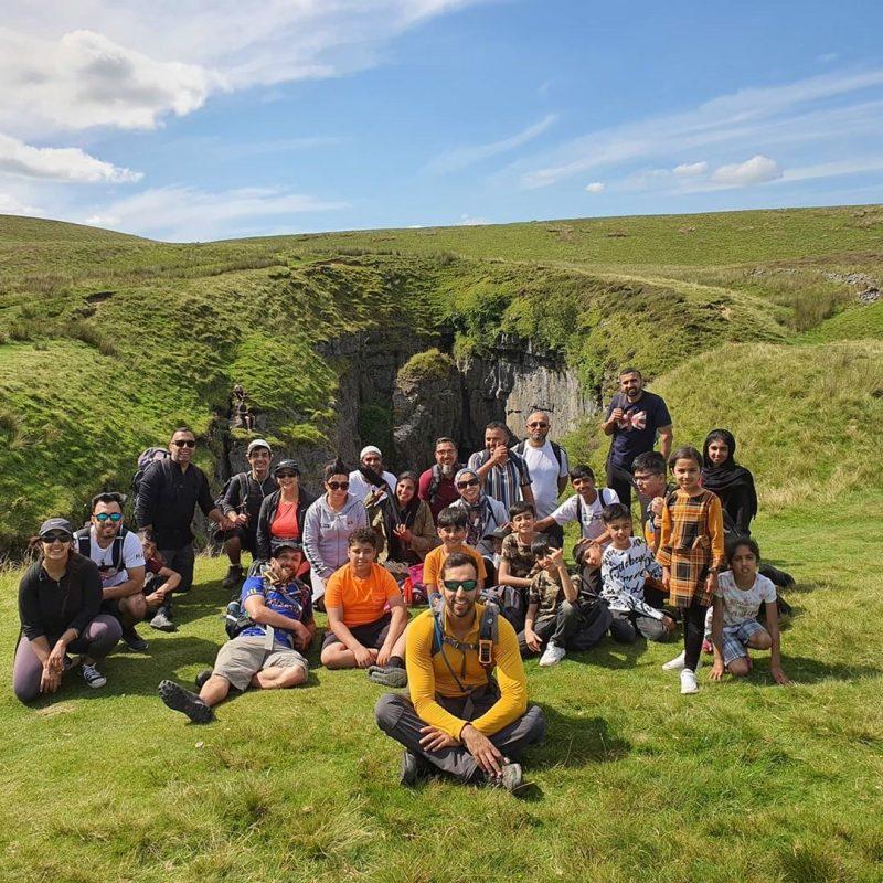 muslim hiking group