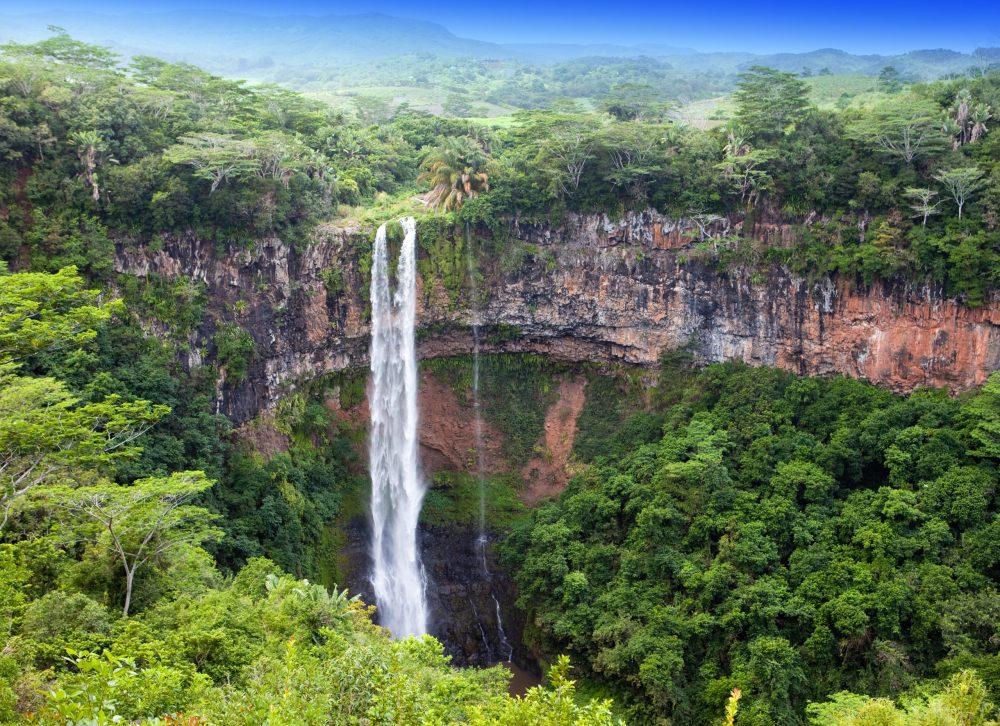 Muslim-friendly island chamarel waterfalls in mauritius