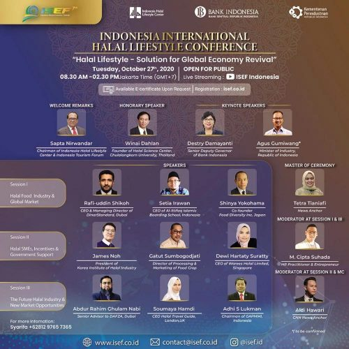 isef indonesia halal lifestyle conference
