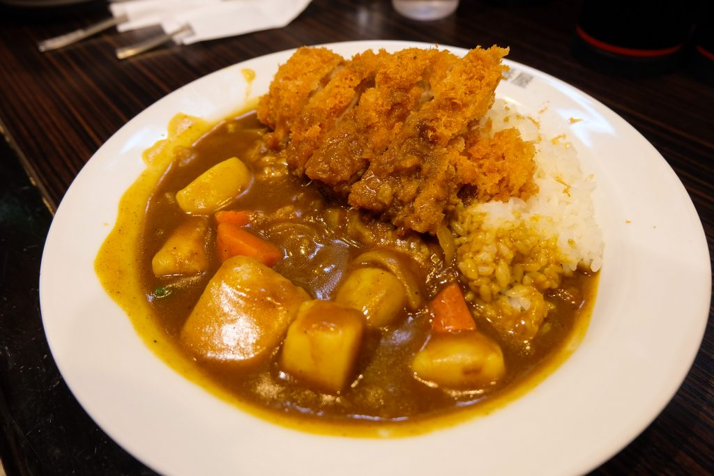 Halal Japanese curry in Halal Cocoichibanya Curry House Tokyo