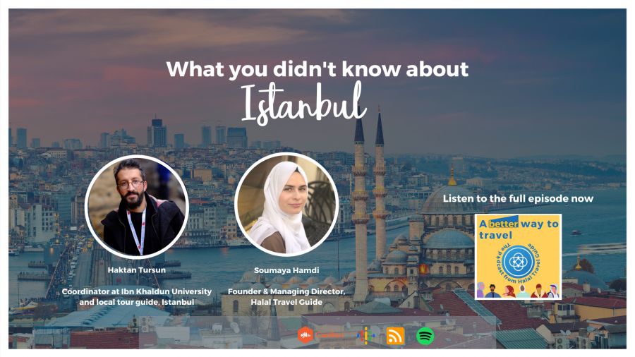 halal travel guide istanbul podcast