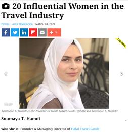 20 influential women in the travel industry Soumaya Hamdi